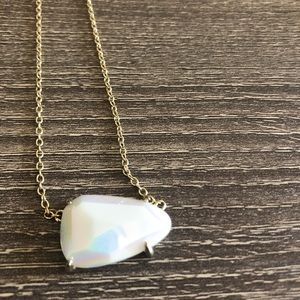 Kendra Scott White Necklace